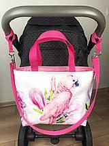 Iné tašky - Kabelka na kočiar Parrot - 11715450_