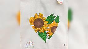 Iné tašky - ♥ Plátená, ručne maľovaná taška ♥ - 11711742_
