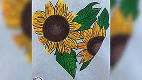 Iné tašky - ♥ Plátená, ručne maľovaná taška ♥ - 11711746_