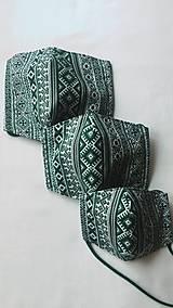 Rúška - Rúško zelené - 11715579_