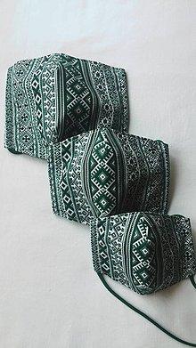 Rúška - Rúško zelené (pánske) - 11715579_