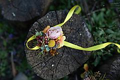 """Náramky - Kvetinový náramok """"prvé lúče"""" - 11714254_"""