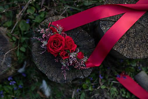 """Kvetinový opasok """"ruža od teba"""""""