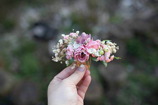 """Kvetinový hrebienok """"prísľuby lásky"""""""
