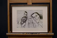Kresby - Karikatúra kreslená na želanie - 11716010_