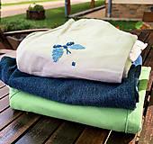 Nohavice - Kraťasy pre deti s motívmi motýľov (pre deti 1-3) - 11714007_