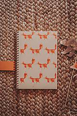 Papiernictvo - Lesné stvory (zápisníky A5) - 11713380_