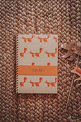 Papiernictvo - Lesné stvory (zápisníky A5) - 11713382_