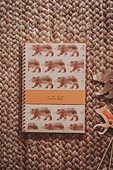 Papiernictvo - Lesné stvory (zápisníky A5) - 11713388_