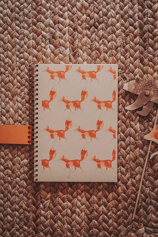 Lesné stvory (zápisníky A5)