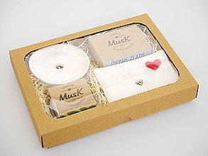 Nádoby - Veľká darčeková sada keramiky a mydla (Darčekové balenie v krabičke) - 11717366_