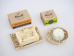 Nádoby - Veľká darčeková sada keramiky a mydla (Bez krabičky) - 11717371_