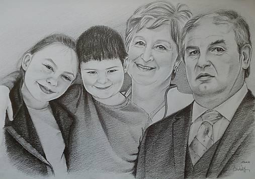Starí rodičia s vnúčatami