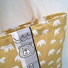 Veľké tašky - Velká taška Polar bear - 11718906_