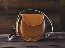 Kožená kabelka Gisele