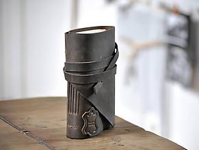 Papiernictvo - kožený zápisník COREY - 11718743_