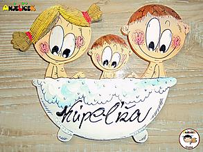 Tabuľky - Menovka - kúpeľňa - 11719919_