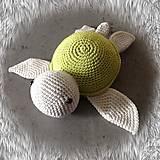 Hračky - korytnačka zelená SKLADOM - 11716412_
