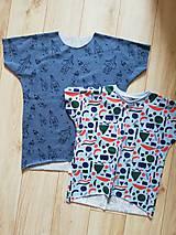 Detské oblečenie - tričko oversize - 11720818_