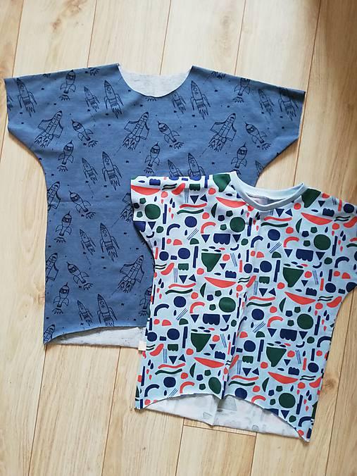 tričko oversize