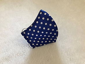 Rúška - Ochranné rúško na tvár dvojvrstvové, ergonomicky tvarované - 11719929_