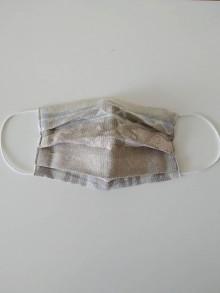 Rúška - Textilné rúško na tvár - 11717418_