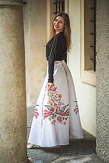 Sukne - Dlhá sukňa s Vajnorským ornamentom (Bratislava) - 11717103_