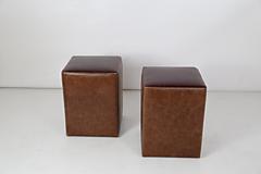 Nábytok - hnedý taburet - 11717157_
