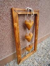 Dekorácie - Drevorezba z lásky - 11720098_