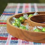 Nádoby - miska z dubového dreva - 11717605_