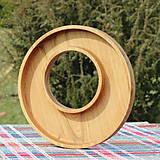 Nádoby - miska z dubového dreva - 11717606_