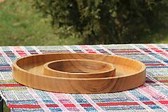 Nádoby - miska z dubového dreva - 11717607_