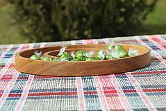 Nádoby - miska z dubového dreva - 11717613_