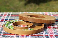 Nádoby - miska z dubového dreva - 11717615_