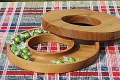 Nádoby - miska z dubového dreva - 11717617_