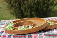 Nádoby - miska z dubového dreva - 11717618_