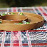 Nádoby - miska z dubového dreva - 11717619_