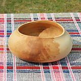 Nádoby - miska z bukového dreva - 11717641_
