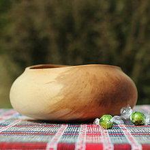 Nádoby - miska z bukového dreva - 11717643_