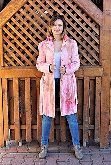 Kabáty - jarný recy-kabát - 11721252_