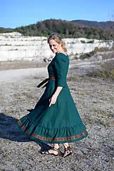 Šaty - ľanové šaty Ráchel - 11724279_