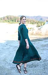 Šaty - ľanové šaty Ráchel - 11724283_