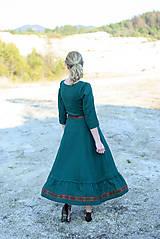 Šaty - ľanové šaty Ráchel - 11724284_