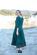 Šaty - ľanové šaty Ráchel - 11724286_