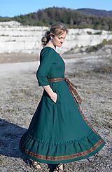 Šaty - ľanové šaty Ráchel - 11724291_