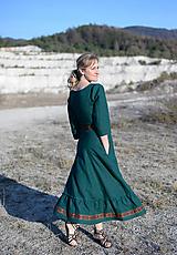 Šaty - ľanové šaty Ráchel - 11724298_