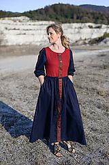 Šaty - ľanové šaty Frida - 11724354_