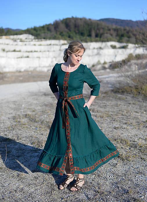 ľanové šaty Ráchel