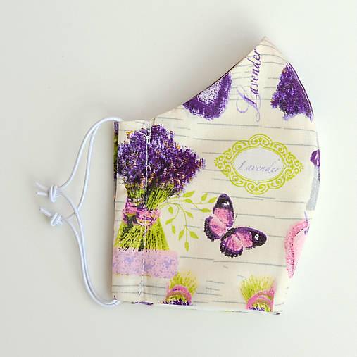 Rúško lavender