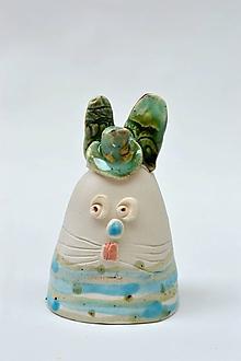 Dekorácie - Veľkonočná dekorácia zajac - 11723675_